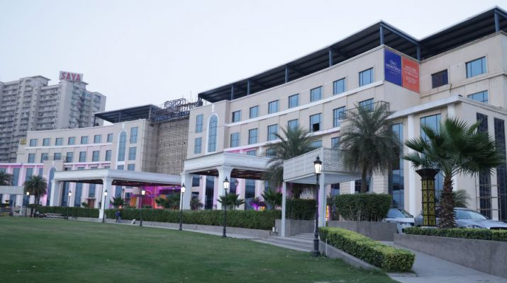 The Gaurs Sarovar Portico - Greater Noida Wests first hotel - Day View