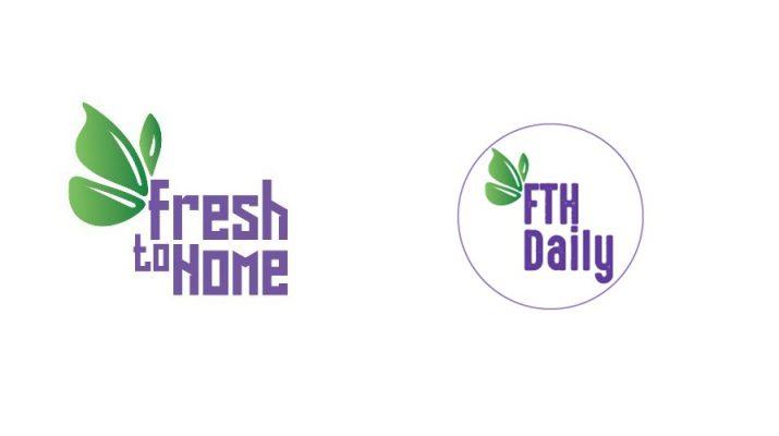 FreshToHome - FTH Daily Logo