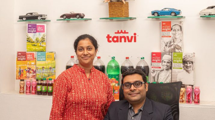 Founder and Director Prabhu Gandhikumar and Co-Founder and Director Brindha Vijayakumar - TABP Snack and Beverages