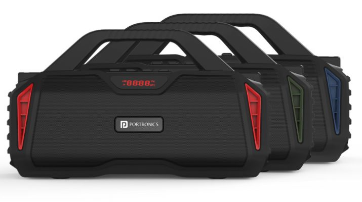 Portronics Chime Bluetooth Speaker with Karaoke Mic