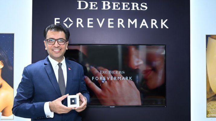 Sachin Jain Managing Director - De Beers India at the 10th De Beers Forevermark Forum