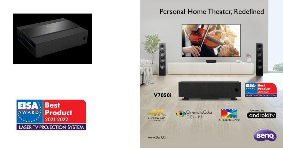 BenQ unlocks Premium Home Cinema Experience - Launches V7050i - 4K Laser TV Projector