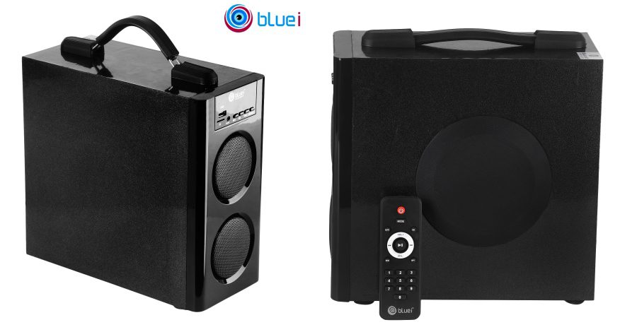 Bluei launches Monster - all-new remote control speakers with LED display