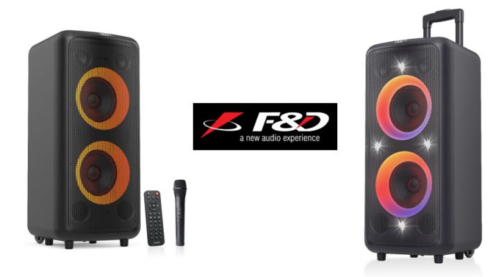 Fenda Audio Launches PA300 Speaker - Bluetooth party speaker system