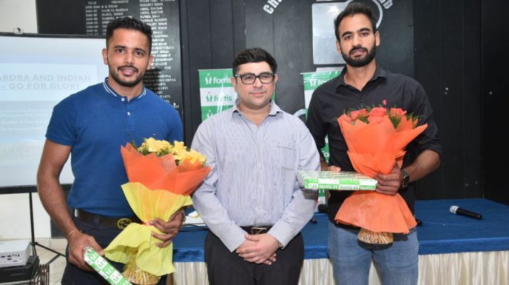 Fortis Hospital successfully treat 2 plays of the Indian Hockey team