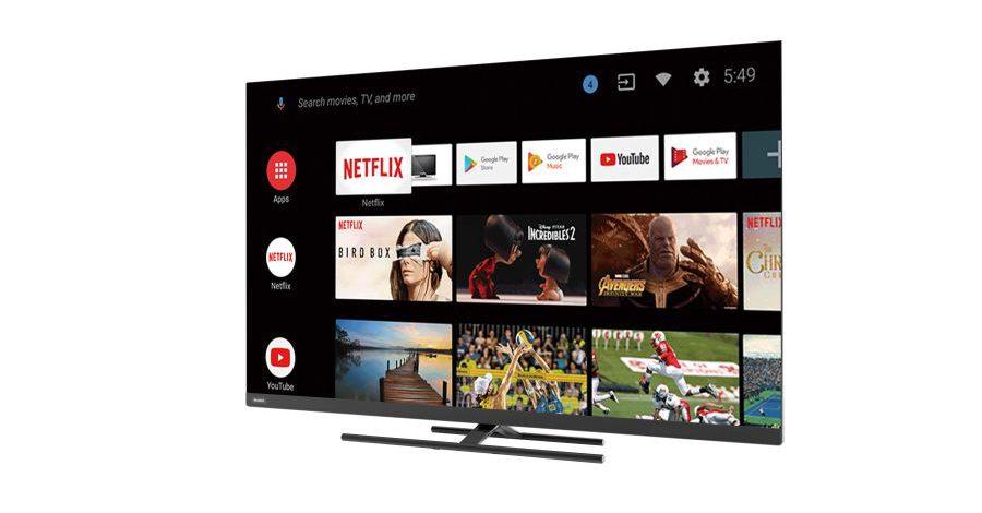 Haier 4K HDR Smart LED TV S8 series - Sideshot