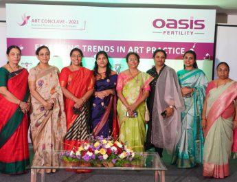 Oasis Fertility Felicitates Senior Doctors During ART Conclave-2021
