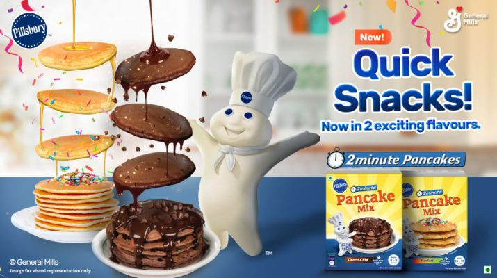 Pillsbury Pancakes bring its two-minute - quick snacks Choco Chip and Funfetti to India