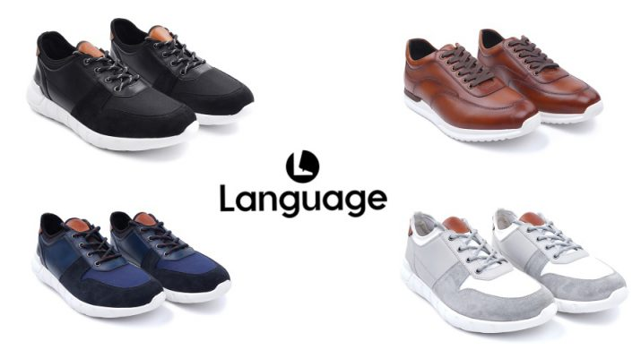 Premium Leather Sneakers from Language Shoes