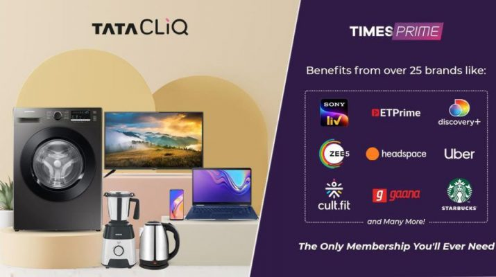 Tata CLiQ and Times Prime Redefine Customer Delight with their Strategic Partnership